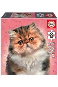 Пъзел Educa от 100 части - Персийска котка