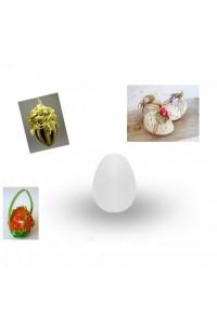 Яйце от стиропор за декорация 6,5см
