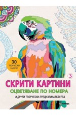 СКРИТИ КАРТИНИ 3 Оцветяване по номера и  други творчески предизвикателства