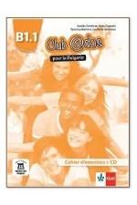 Club @dos Pour la Bulgarie - ниво B1.1: Учебна тетрадка по френски език за 8. клас + CD