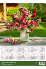 3D календар - Букет 2017