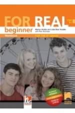 FOR REAL A1. Работна тетрадка по английски език за 8. клас