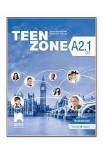 Teen Zone - ниво A2.1: Работна тетрадка по английски език за 9. клас
