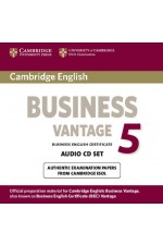 Cambridge English Business Vantage - ниво B2: 2 CD с аудиоматериали Fifth Edition