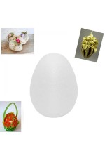 Яйце от стиропор за декорация 15см