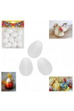 Яйца от стиропор за декорация 4,5см - 10 броя